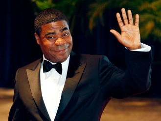 "Comedian Tracy  Morgan from the television series ""30 Rock"" arrives at the White House Correspondents' Association dinner in Washington"